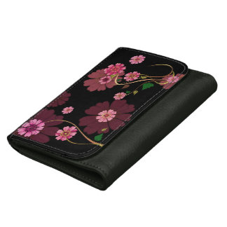 floral wallets for women