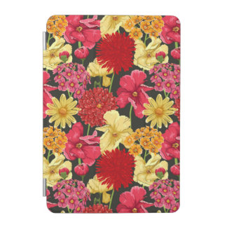 Floral wallpaper in watercolor style iPad mini cover