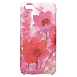floral water color iPhone 5C covers