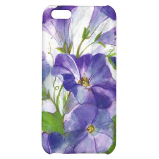 floral water color tulips case for iPhone 5C
