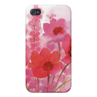floral water colour case for iPhone 4