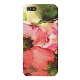 floral water colour iPhone 5 cases