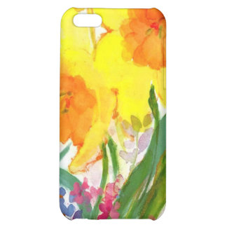 floral water colour iphone case case for iPhone 5C