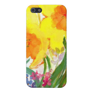 floral water colour iphone case iPhone 5/5S case