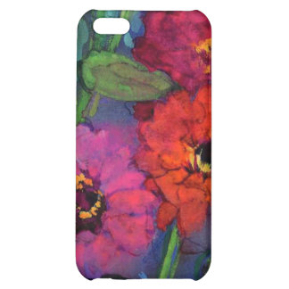 floral water colour tulips iPhone 5C covers