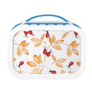 Floral Watercolor, Dog-rose Lunch Box