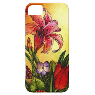 floral watercolor iPhone 5 cover