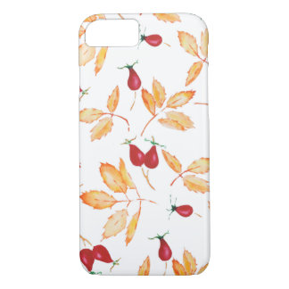 Floral Watercolor, Wild Rose iPhone 8/7 Case