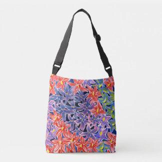 Floral Watercolour Cross Body Bag