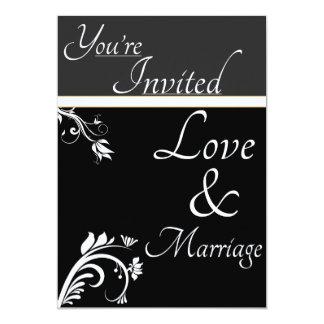 Floral Wedding Card 13 Cm X 18 Cm Invitation Card