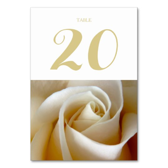 Floral Wedding Table Cards
