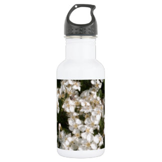 Floral White 532 Ml Water Bottle