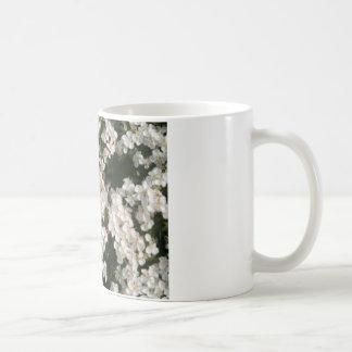 Floral White Coffee Mug