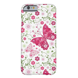 Floral White Pattern Barely There iPhone 6 Case