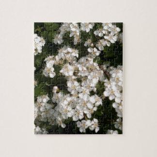 Floral White Puzzle