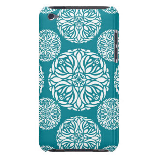 Floral winter snowflake barely there iPod covers