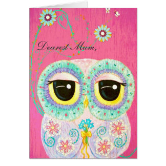Floral Wishes Happy Mother's Day Greeting Card