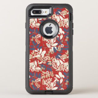 Floral with giraffe OtterBox defender iPhone 8 plus/7 plus case
