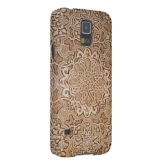 floral wood carving galaxy s5 case