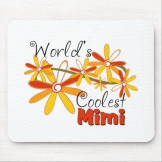 Floral World's Coolest Mimi Mouse Pad