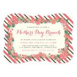 Floral Wreath Mother's Day Brunch 13 Cm X 18 Cm Invitation Card