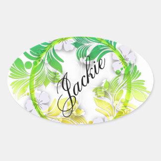 Floral Wreath Sticker