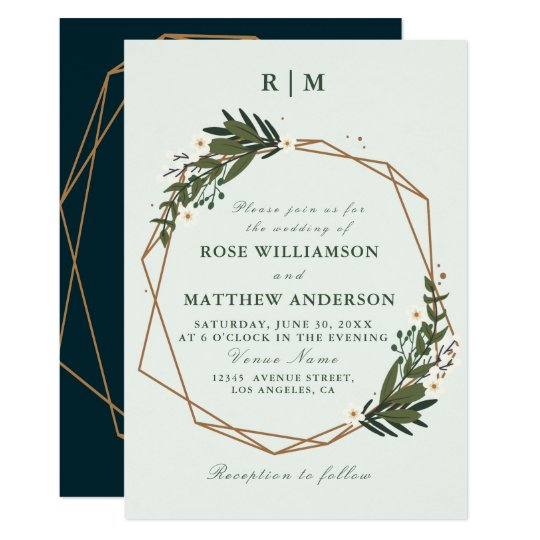 wedding invitation maker floral wedding invitations amp announcements zazzle uk 9719