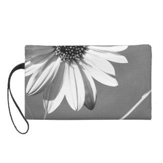 floral wristlet purse