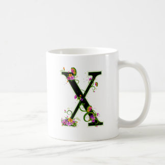 Floral X Mug