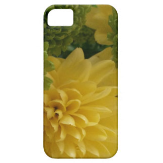 Floral yellow/green iPhone 5 cases