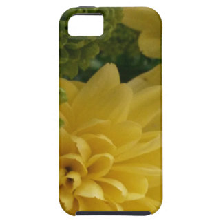 Floral yellow/green iPhone 5 covers
