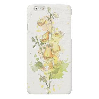 Floral Yellow Splash iPhone 6 Plus Case