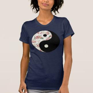 Floral Yin and Yang T-Shirt