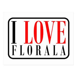 Florala Alabama Postcard