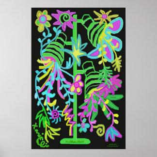 Floralight Poster