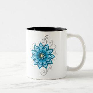 Florals - Blue Coffee Mug