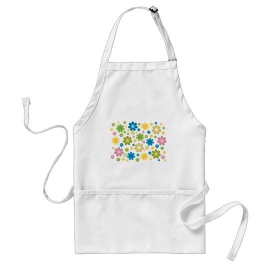 Florals - hippie design standard apron