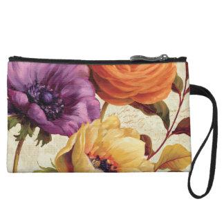 Florals in Full Bloom Wristlet