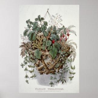 Flora's treasures Poster Prints