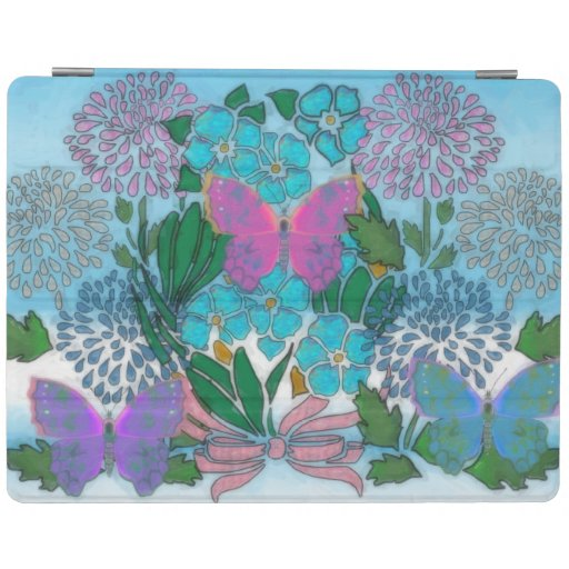 Floratopia iPad Cover