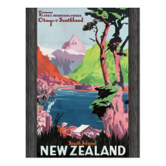 Flords Otago Southland South Island Newzealand Vi Post Card