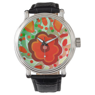 flore red watches
