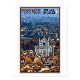 Florence - Basilica di Santa Croce Postcard
