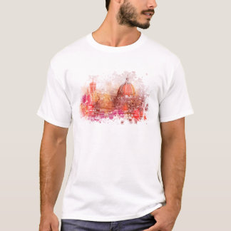 Florence - Basilica of Saint Mary of the Flower T-Shirt