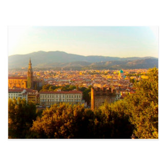 Florence before sunset postcards