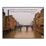 Florence Bridge With Love Quote