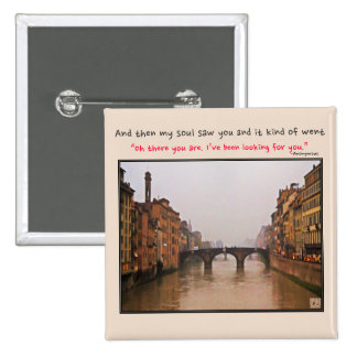 Florence Bridge With Love Quote Buttons