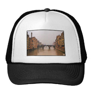 Florence Bridge With Love Quote Trucker Hats