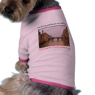 Florence Bridge With Love Quote Dog Clothes