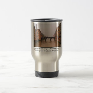 Florence Bridge With Love Quote Coffee Mugs